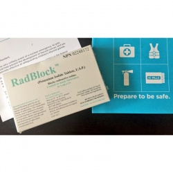 5 boxes RadBlock™ 60's Potassium Iodide 65mg tablets in six foil wrapped blister pack of 10 ( Copy ) ( Copy ) ( Copy )